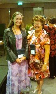Danielle, Past President EEMA e Laura Dryjanska