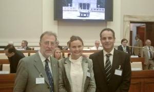 I rappresentanti del Rotarian Action Group Against Child Slavery in Italia con il Prof. Jose Antonio Lorente, Universidad de Granada al Workshop contro il Traffico Umano