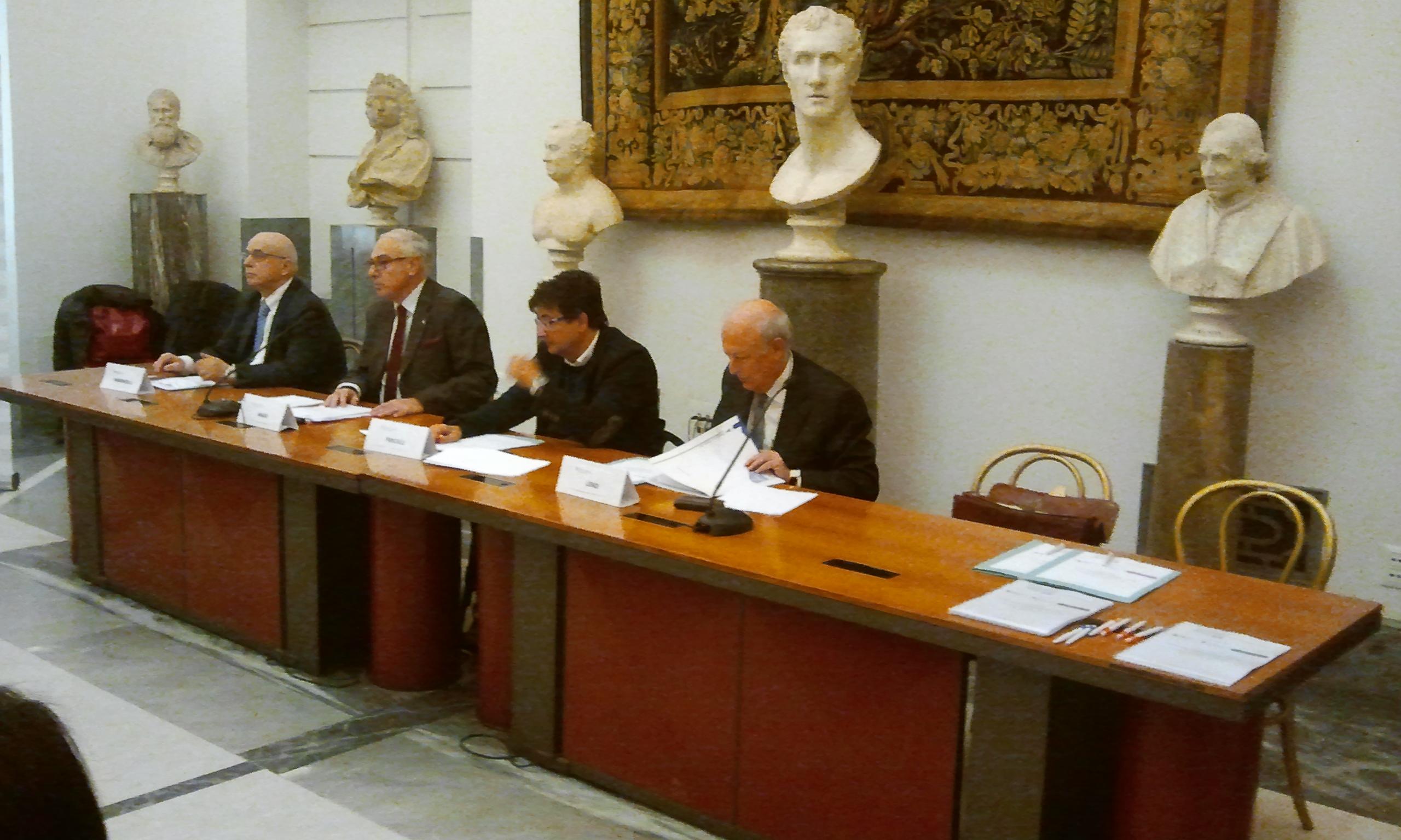 Sala Piccola Protomoteca : Conferenza stampa in campidoglio con lassessore pancalli rotarian